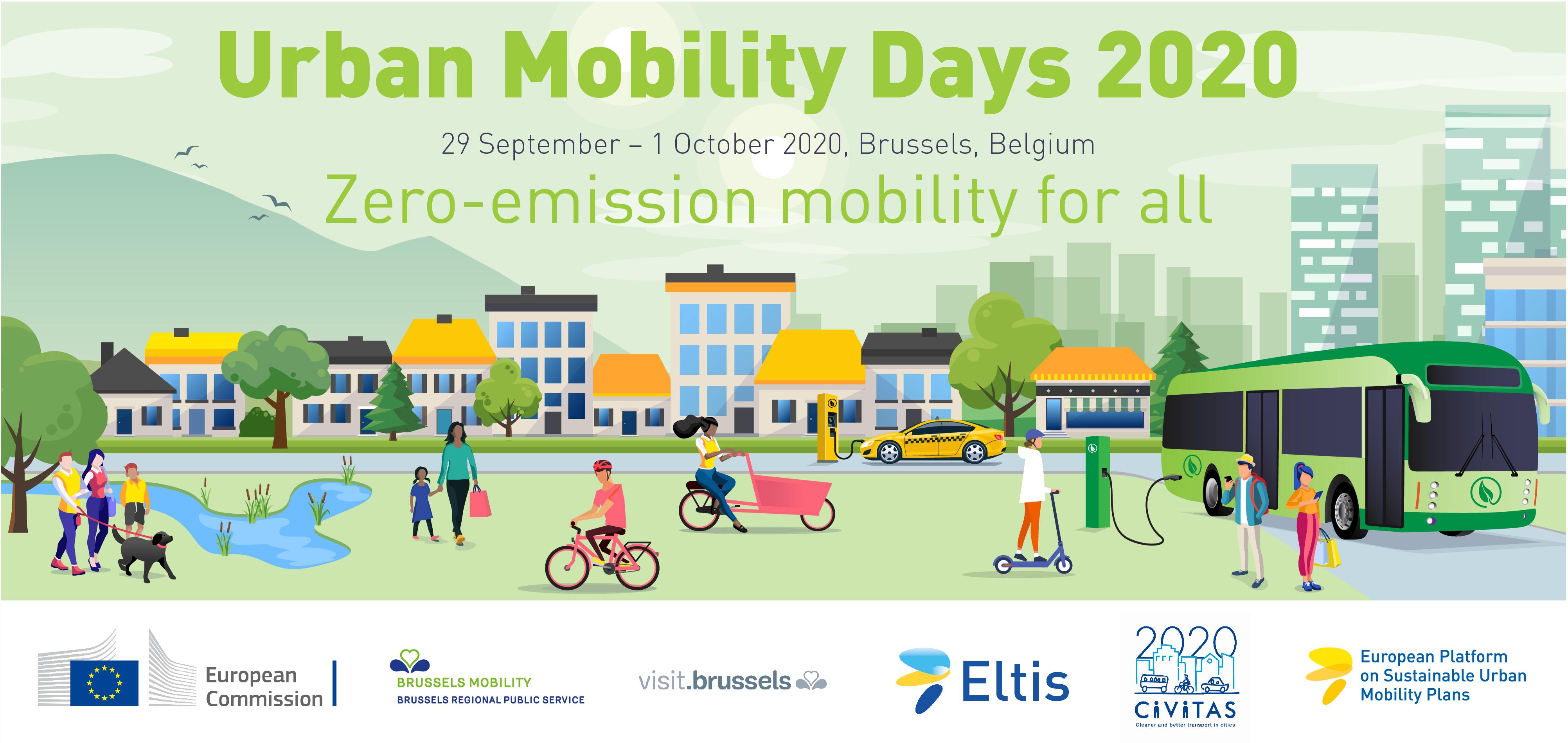 Urban Mobility Days banner