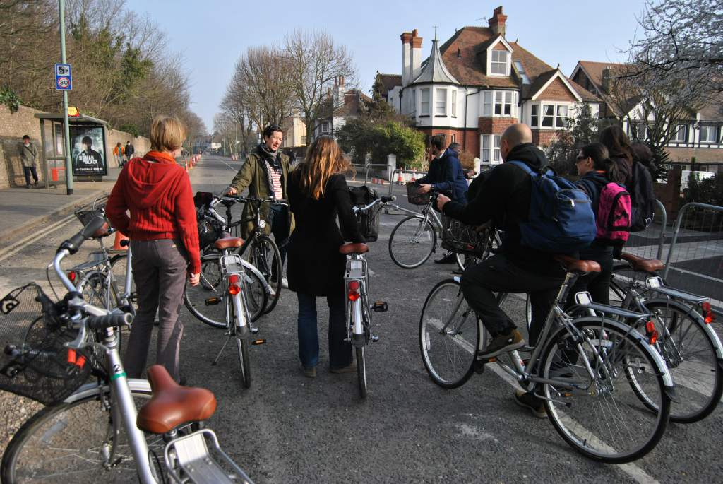 Brighton and Hove study tour<br>Photos taken during the Brighton and Hove Cycling for all study tour.</br><br>Photographer : </br><br></br><br></br><br>></br>