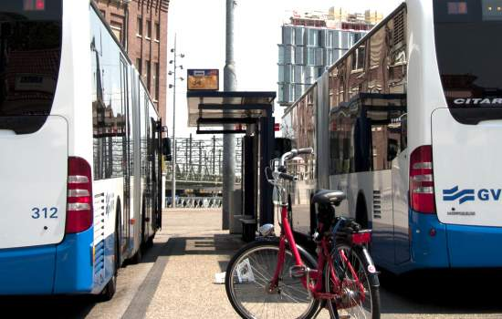 "GVB, the transit authority of Amsterdam, The Netherlands, recently operates hydrogen-fueled buses on two routes in the northern part of the city. The buses extract hydrogen from nine roof-mounted water tanks, each capable of supplying enough fuel to power the bus for 250 kilometers (about 155 miles). The two-year project costs 7 million euros (about $8.6 million).<a href=""/thematic-categories/cleaner-fleets"" typeof=""skos:Concept"" property=""rdfs:label skos:prefLabel"" datatype="""">Cleaner fleets</a>, <a href=""/thematic-categories/service-improvements"" typeof=""skos:Concept"" property=""rdfs:label skos:prefLabel"" datatype="""">Service improvements</a>, <a href=""/thematic-categories/walking-and-cycling-enhancementsservices"" typeof=""skos:Concept"" property=""rdfs:label skos:prefLabel"" datatype="""">Walking and cycling enhancements/services</a> <a href=""/transport-modes/bus"" typeof=""skos:Concept"" property=""rdfs:label skos:prefLabel"" datatype="""">Bus</a>, <a href=""/transport-modes/cycling"" typeof=""skos:Concept"" property=""rdfs:label skos:prefLabel"" datatype="""">Cycling</a>"