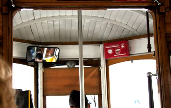 "Surveillance Camera on Lisbon Tram - see also <a href=""http://www.greenhorizon-online.com/index.php/Sustainable-Transport/"">http://www.greenhorizon-online.com/index.php/Sustainable-Transport/</a><a href=""/thematic-categories/service-improvements"" typeof=""skos:Concept"" property=""rdfs:label skos:prefLabel"" datatype="""">Service improvements</a>, <a href=""/thematic-categories/enhancing-passenger-security"" typeof=""skos:Concept"" property=""rdfs:label skos:prefLabel"" datatype="""">Enhancing passenger security</a> <a href=""/transport-modes/tram"" typeof=""skos:Concept"" property=""rdfs:label skos:prefLabel"" datatype="""">Tram</a>"