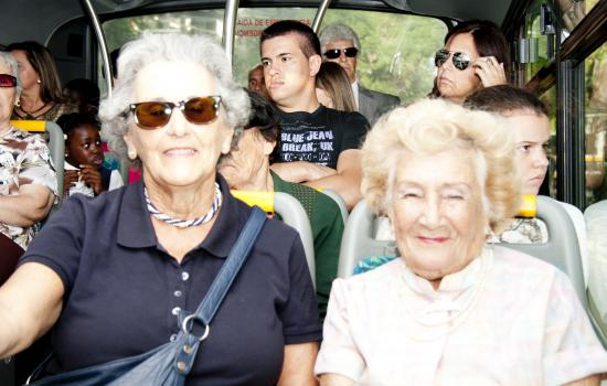 """<a href=""""/content/funchal"""">Funchal</a> MIMOSAElderly people ride care-free on the bus in Funchal, Portugal<a href=""""/thematic-categories/accessibility"""" typeof=""""skos:Concept"""" property=""""rdfs:label skos:prefLabel"""" datatype="""""""">Accessibility</a>, <a href=""""/thematic-categories/enhancing-passenger-security"""" typeof=""""skos:Concept"""" property=""""rdfs:label skos:prefLabel"""" datatype="""""""">Enhancing passenger security</a> <a href=""""/transport-modes/bus"""" typeof=""""skos:Concept"""" property=""""rdfs:label skos:prefLabel"""" datatype="""""""">Bus</a>"""