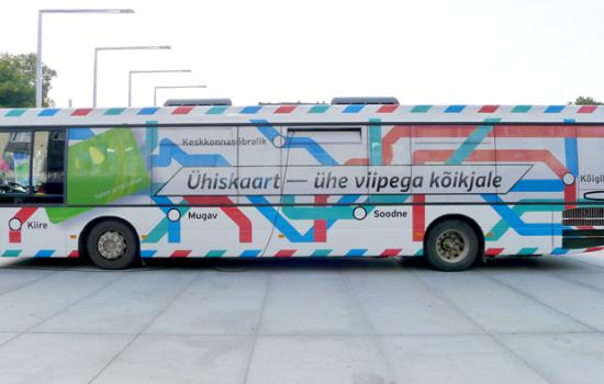 "<a href=""/city/tallinn"">Tallinn</a> MIMOSAIn order to promote the new e-ticketing system Tallinn Transport Department officials presented the new contactless card in each city district.<a href=""/thematic-categories/civitas-plus-ii"" typeof=""skos:Concept"" property=""rdfs:label skos:prefLabel"" datatype="""">CIVITAS PLUS II</a> <a href=""/transport-modes"" typeof=""skos:Concept"" property=""rdfs:label skos:prefLabel"" datatype=""""></a>"