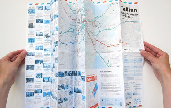 """<a href=""""/content/tallinn"""">Tallinn</a> MIMOSAA foldable Tallinn PT map for visitors (in English) available at the Airport, Ports and at tourist info point in the city centre.<a href=""""/thematic-categories/mobility-marketing-and-awareness-raising"""" typeof=""""skos:Concept"""" property=""""rdfs:label skos:prefLabel"""" datatype="""""""">Mobility marketing and awareness raising</a> <a href=""""/transport-modes"""" typeof=""""skos:Concept"""" property=""""rdfs:label skos:prefLabel"""" datatype=""""""""></a>"""