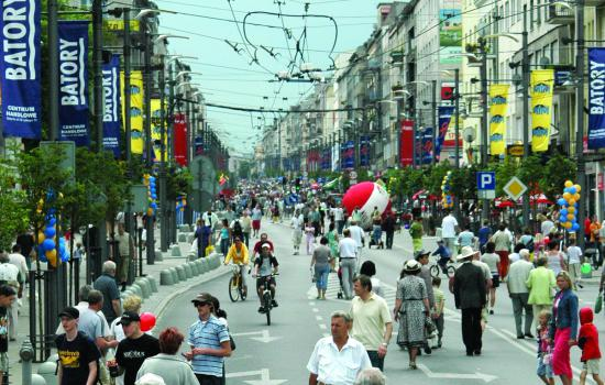 """<a href=""""/content/gdynia"""">Gdynia</a> TELLUSSwietojanska street when it was closed for a day for the Swietojanska street festival in Gdynia<a href=""""/thematic-categories/access-management-and-road-pricing"""" typeof=""""skos:Concept"""" property=""""rdfs:label skos:prefLabel"""" datatype="""""""">Access management and road pricing</a>, <a href=""""/thematic-categories/mobility-marketing-and-awareness-raising"""" typeof=""""skos:Concept"""" property=""""rdfs:label skos:prefLabel"""" datatype="""""""">Mobility marketing and awareness raising</a> <a href=""""/transport-modes"""" typeof=""""skos:Concept"""" property=""""rdfs:label skos:prefLabel"""" datatype=""""""""></a>"""