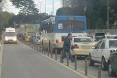 Congestion in Asprela, Porto
