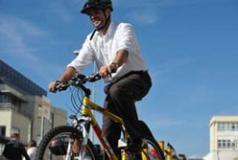 Cyclist in Brighton & Hove