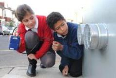 Pupils monitoring air quality in Brighton & Hove