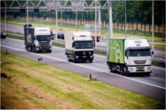 trucks, traffic