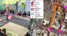 Rethymno combines new infrastructure and strategic plans with public engagement and behavioural change activities to increase safety and use of sustainable mobility modes for the school community