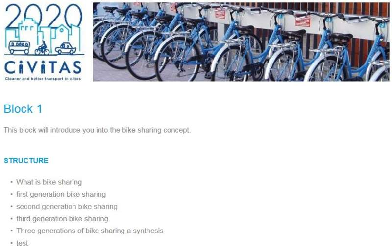 example e-course bike sharing