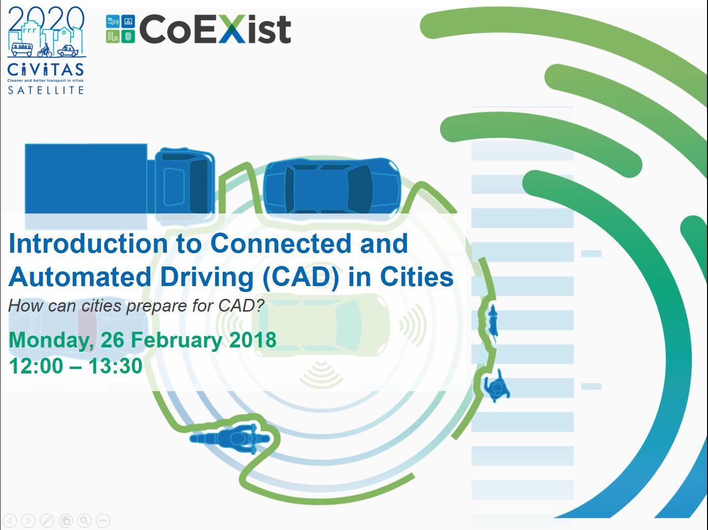 Connected and Automated Driving (CAD) in Cities: How can cities prepare for CAD?