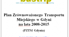Gdynia's SUTP was elaborated within the BUSTRIP project