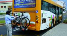 Funchal bus and bike bike racks
