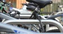 Locked bikes in Brighton & Hove, anti-theft scheme