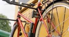 bike and busbike rack on bus